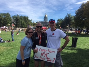 Post Denver marathon